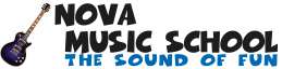 Nova Music School – The Sound of Fun Logo